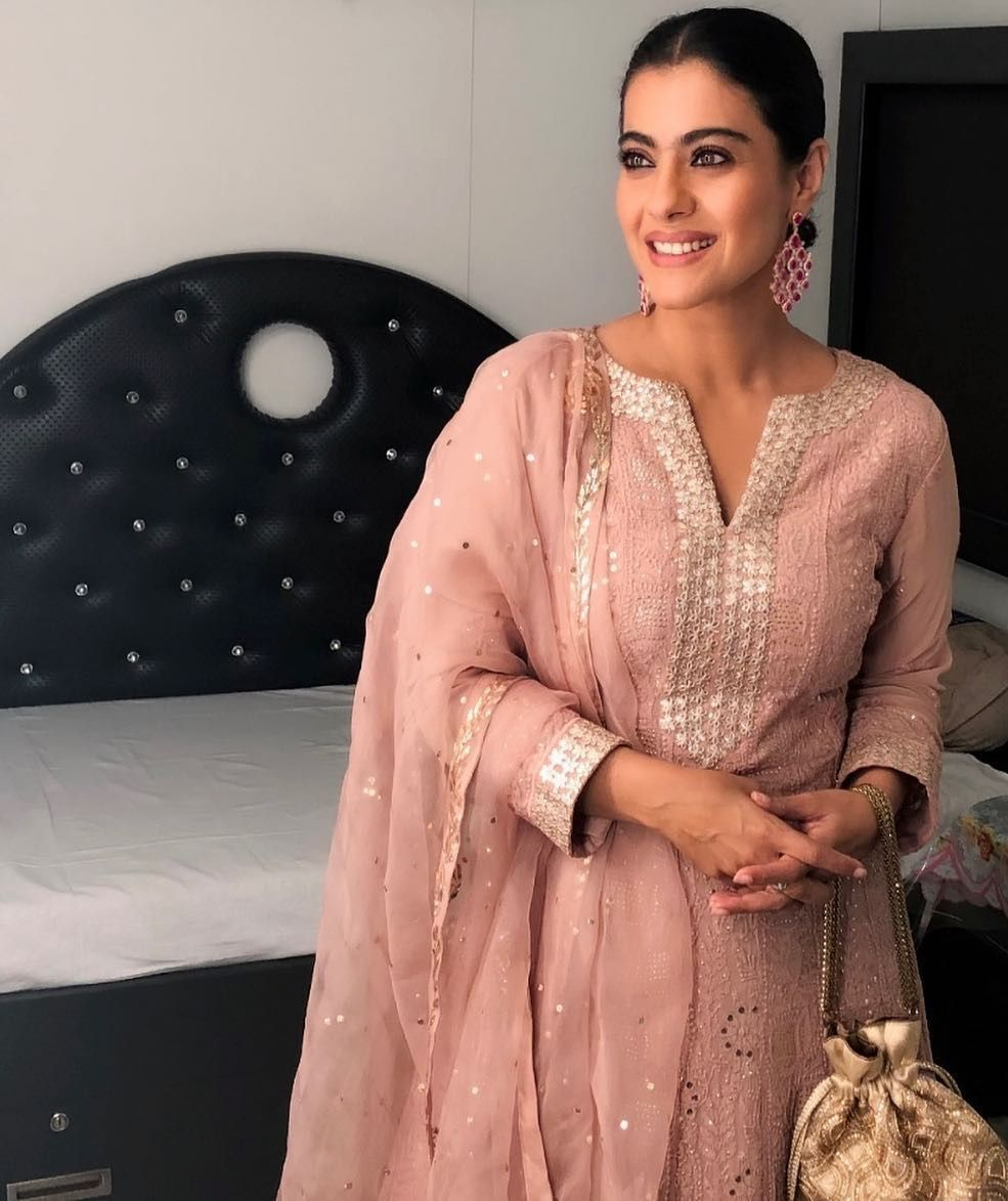 Kajol in a Salwar | Churidhar - Indian Wear in 2019 | Diwali