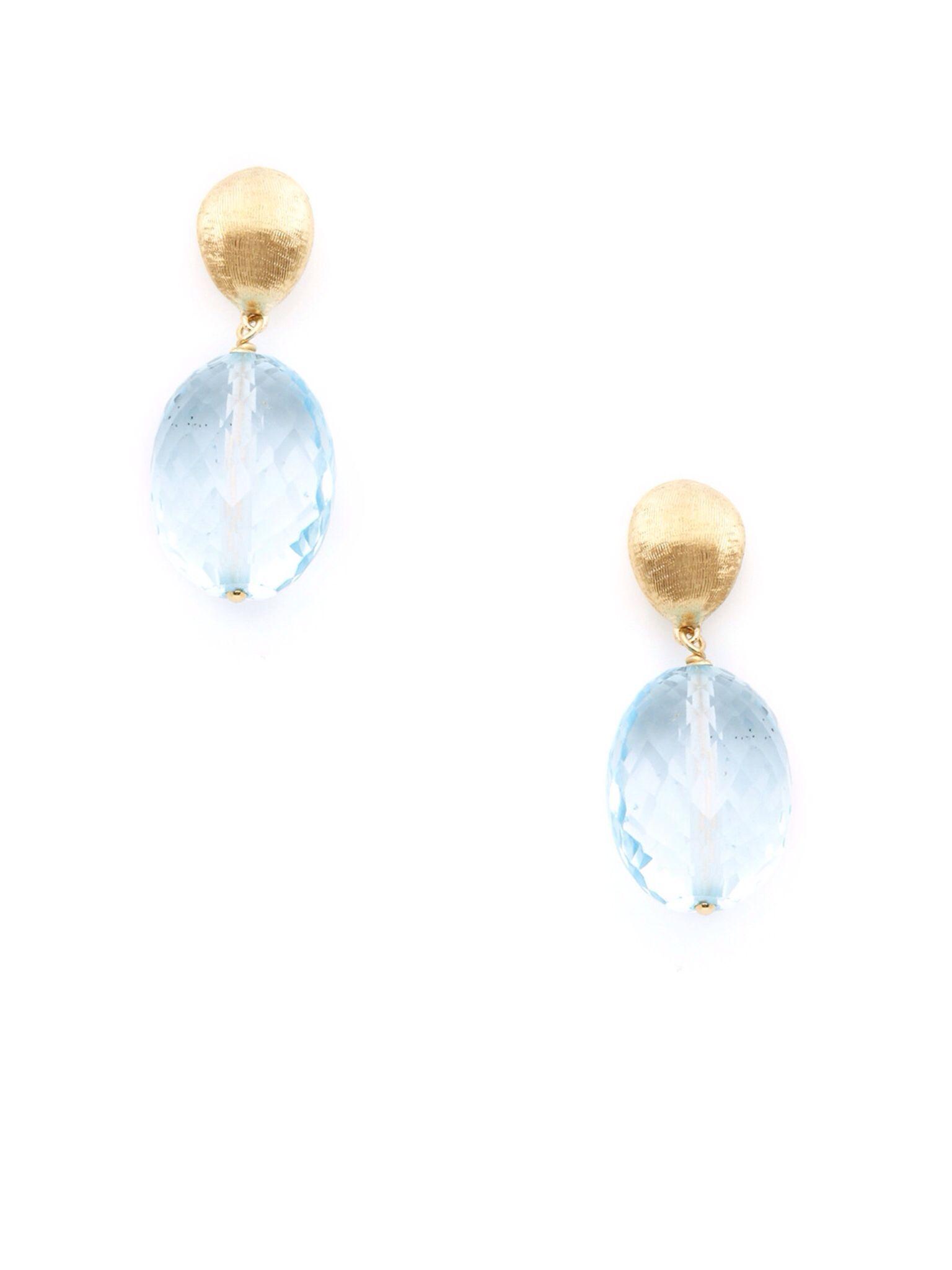 Marco Bicego Philadelphia topaz earrings