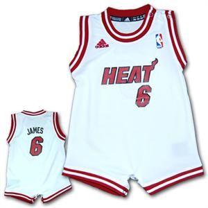 buy popular 7fc63 e5a97 baby lebron james jersey | Lebron James Infant Romper Jersey ...