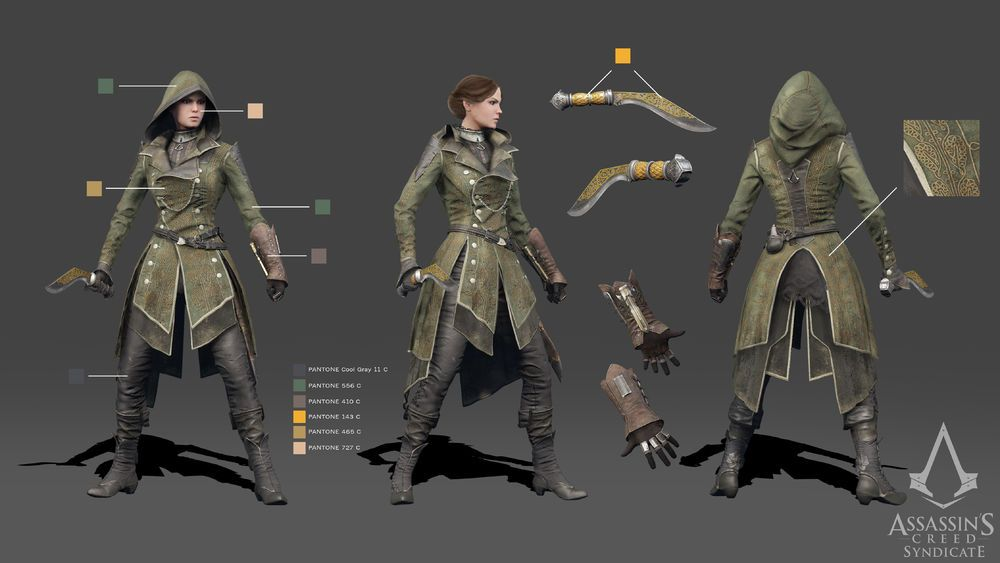 Lydia Frye Assassins Creed Artwork Assassins Creed Cosplay Assassins Creed Syndicate