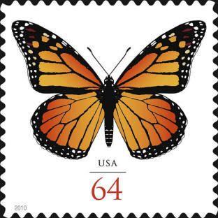 2010 64c Monarch Butterfly Scott 4462 Mint F/VF NH  www.saratogatrading.com
