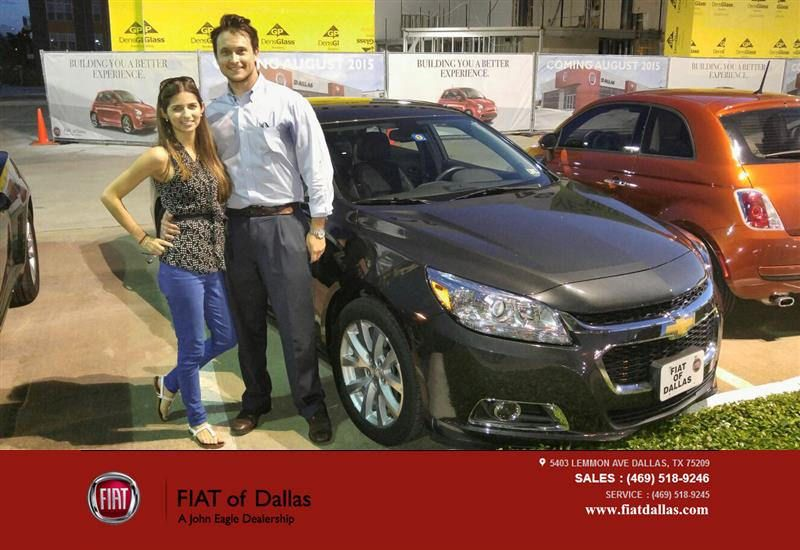 Happy Anniversary To Chris On Your Chevrolet Malibu From Vincent