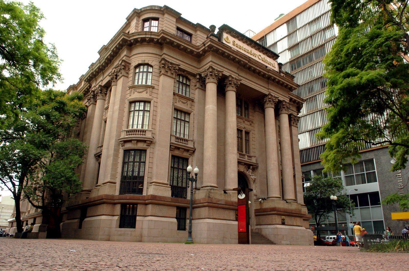 Santander Cultural Porto Alegre Arquitetura