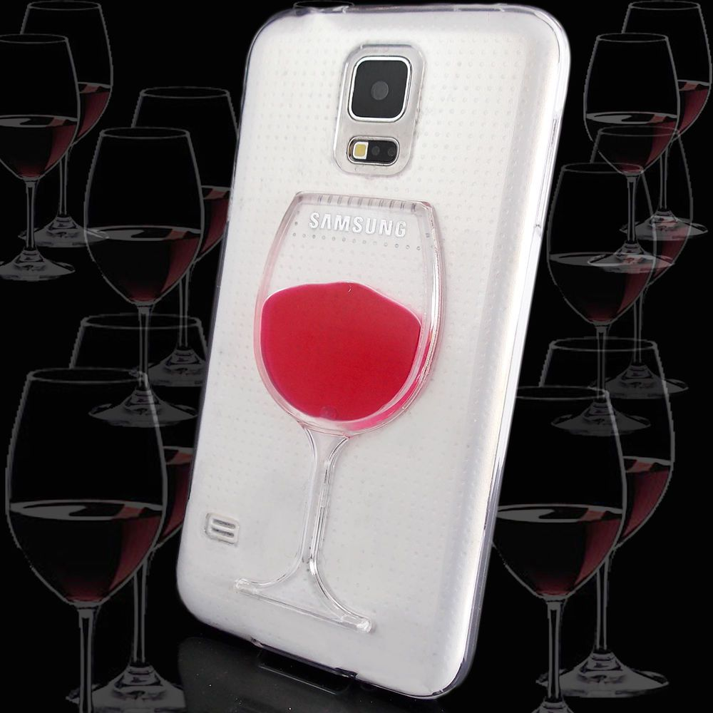3d Red Wine Goblet Case For Samsung Galaxy Note 4 N910 Silicone Rubber Cover Samsung Galaxy Samsung Galaxy S6 Edge Samsung