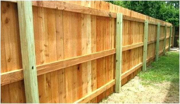 cheapest way to build a wood privacy fence wood privacy on inexpensive way to build a wood privacy fence diy guide for 2020 id=44347