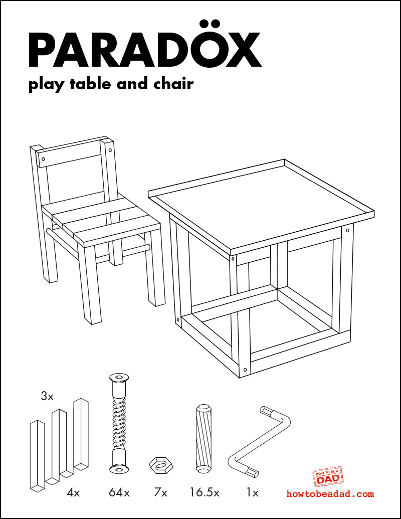 ikeau0027s new mc escher line as play table and chair