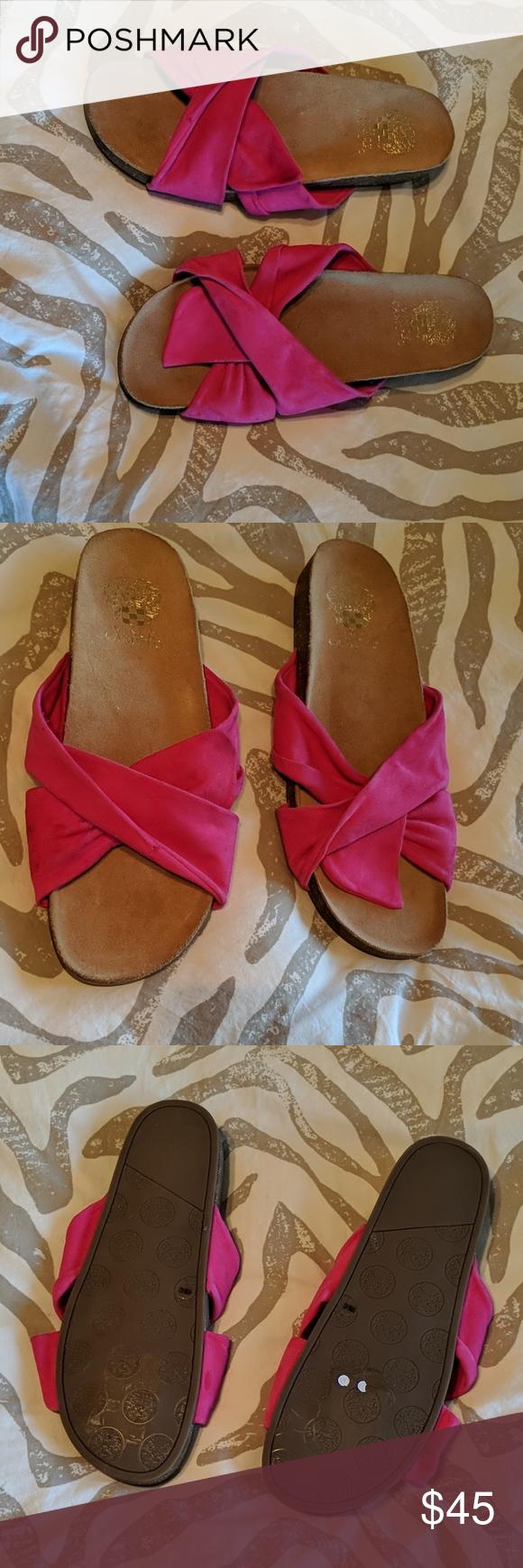 dd47618f4aac Vince Camuto Berulia suede slide sandal Nwot vince camuto pink suede sandal.  These are new