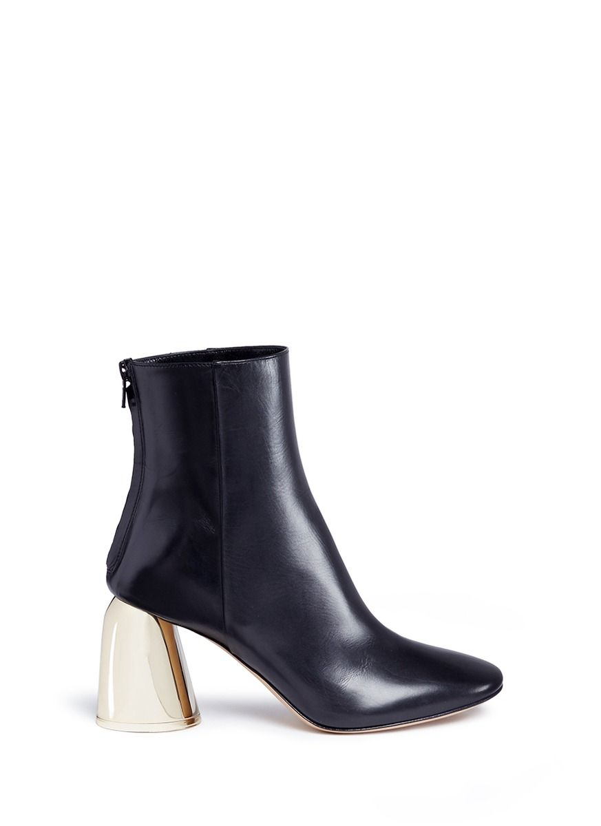 Stretch-Leather Ankle BootsEllery LpSmy05wHE