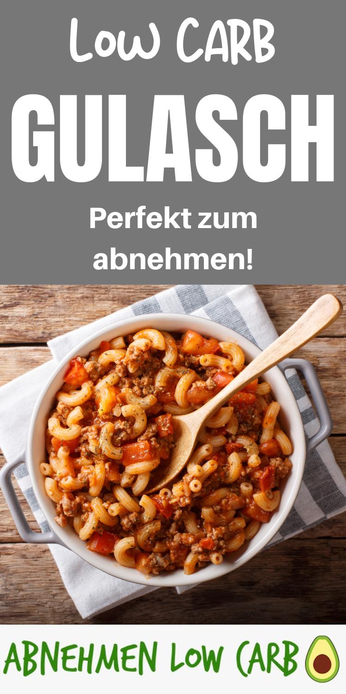 Mit diesem Rezept nimmst du super schnell mit einem richtig leckeren Gericht ab! #gulaschrezept