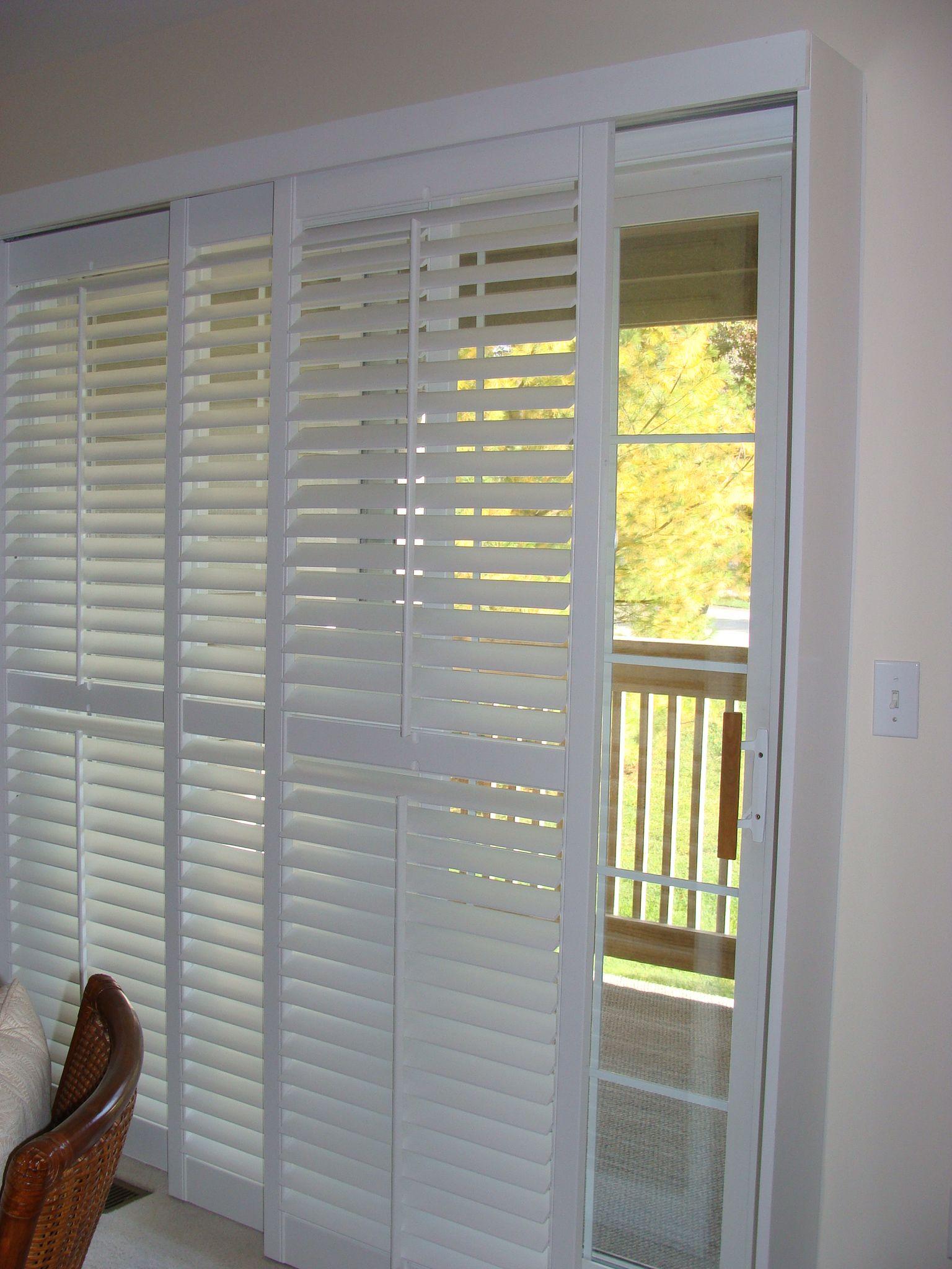 Sliding Door Window Solutions Delux Drapery Amp Shade Co Blog Patio Door Window Treatments Sliding Patio Doors Window Treatment Patio Door Coverings