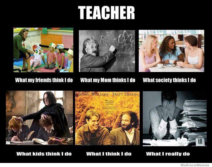 Teacher: me
