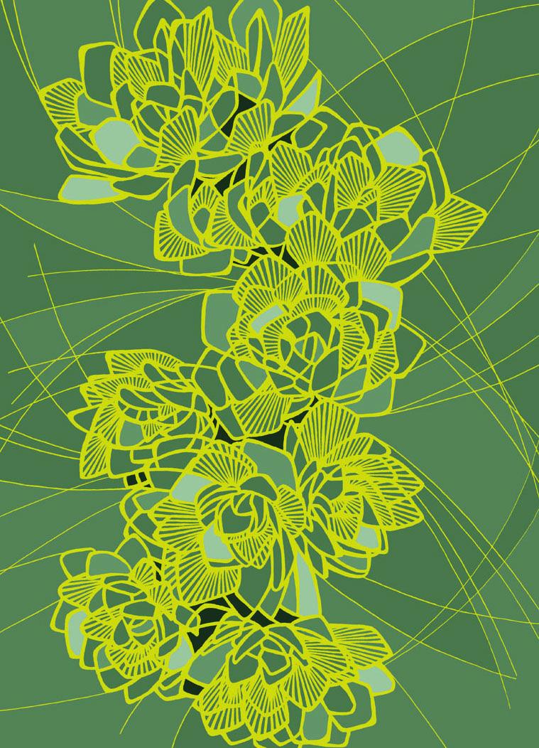 Bloom - Katie Bergin Design www.facebook.com/katiebergindesign