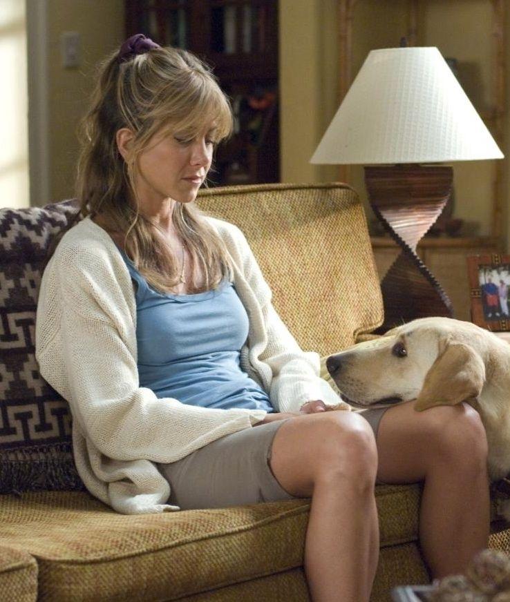 Jennifer Aniston in Marley & Me | Sweaters | Marley, me ...  Jennifer Anisto...