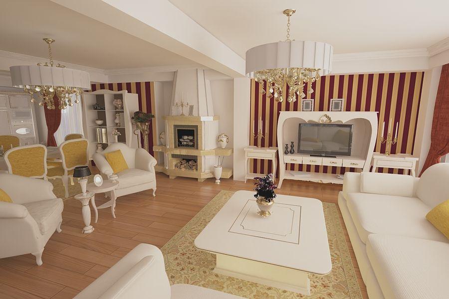 Design interior living modern casa in constanta idei si for Interioare case moderne