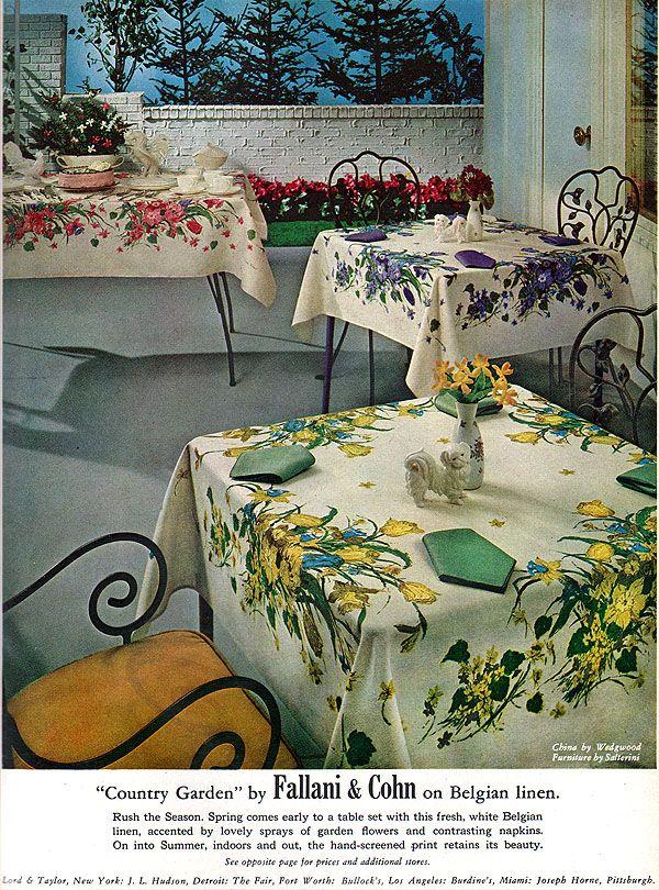 Salterini Patio Furniture Parts: Salterini Wrought Iron Ad 1961