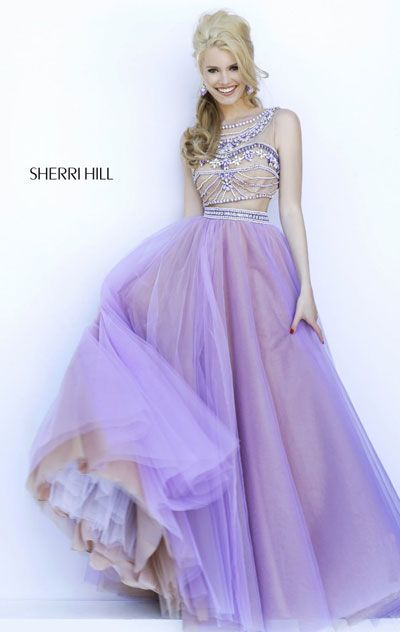 Lavender prom dresses sherri hill