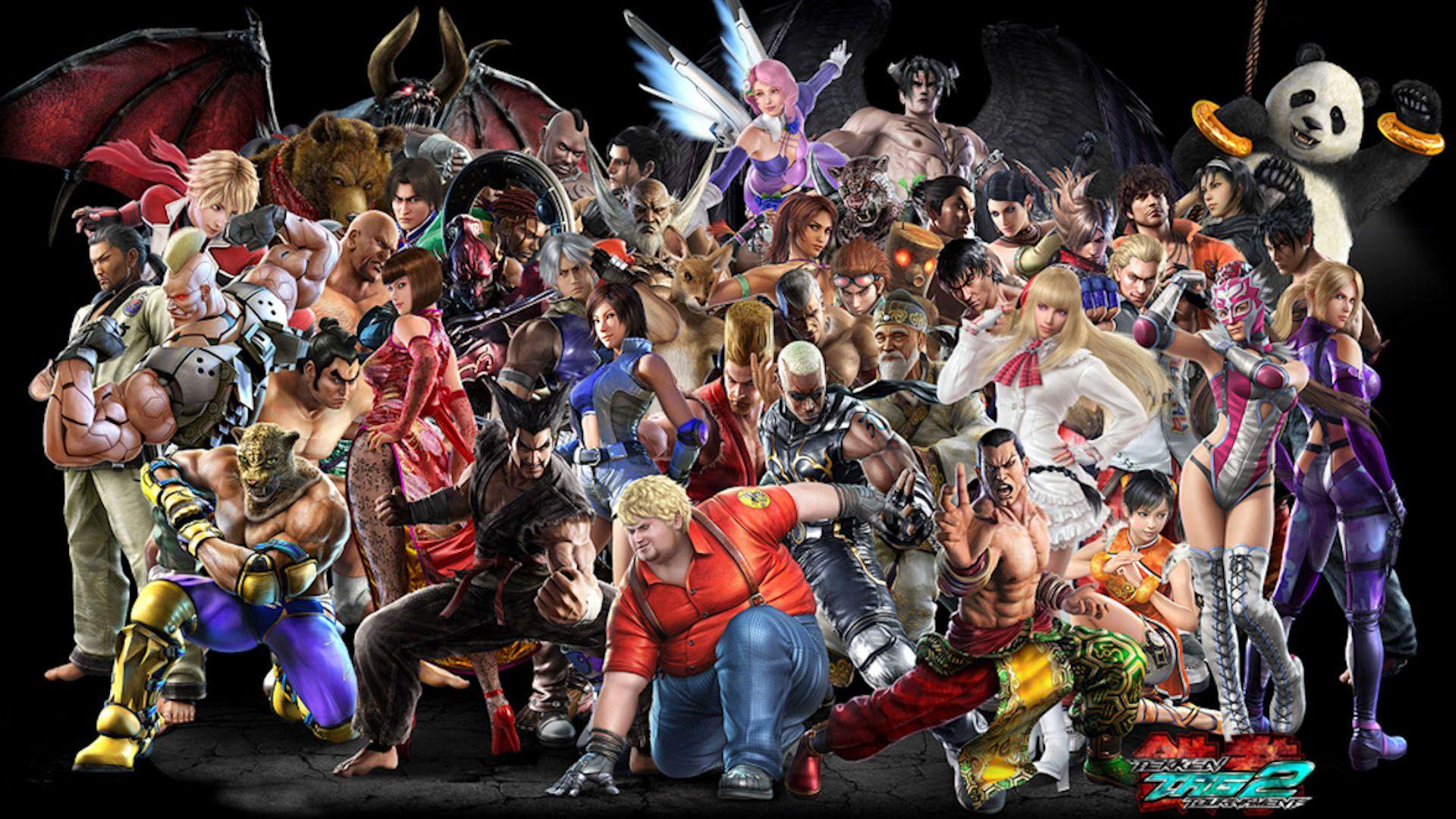 Tekken Characters Wallpaper Character Wallpaper Tekken Tag