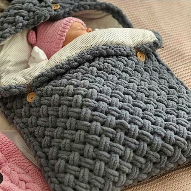 The best 15 knit baby blankets of the week | Knitting patterns for beginners