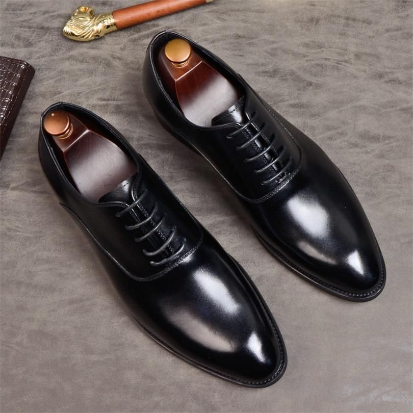 Men's formal shoes genuine leather