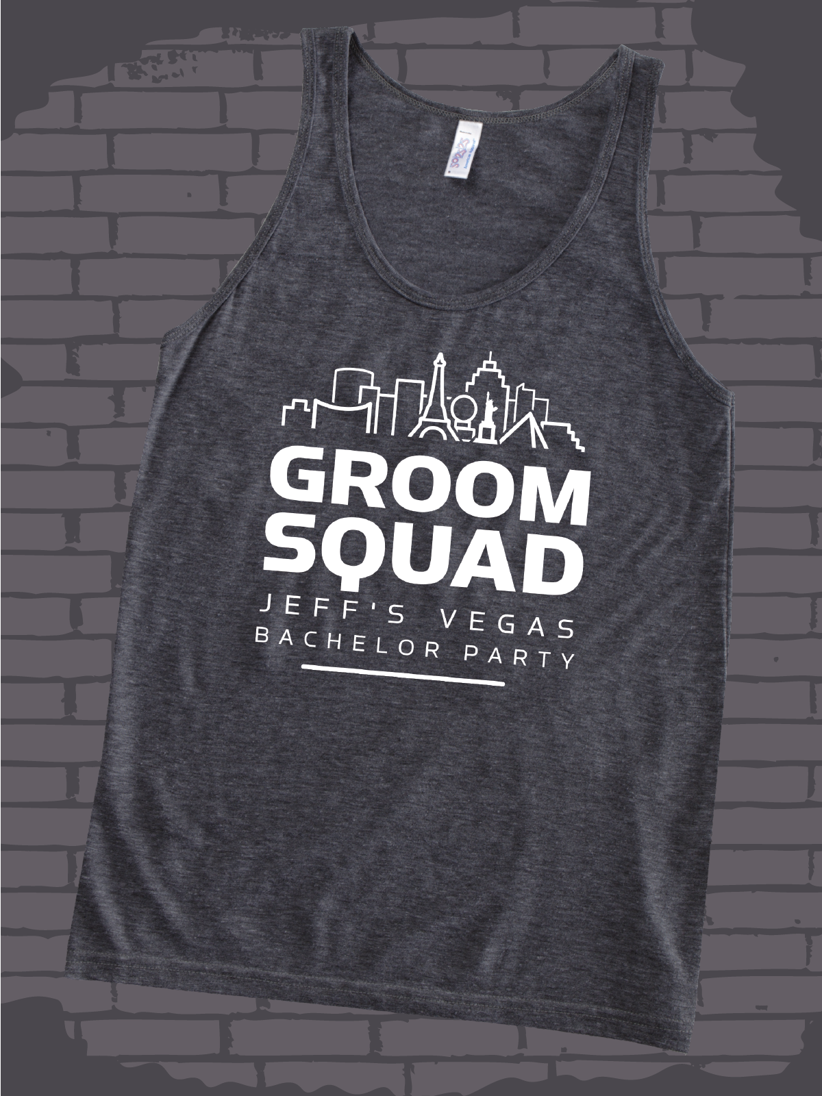 d214abfe745c2 Groom Squad design idea for custom bachelor party t-shirts