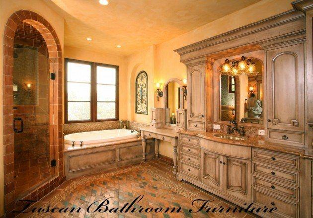 Full Size of Uncategorized:tuscan Bathroom Designs For Lovely Tuscan Style  Bathroom Designs Tuscan Style ...
