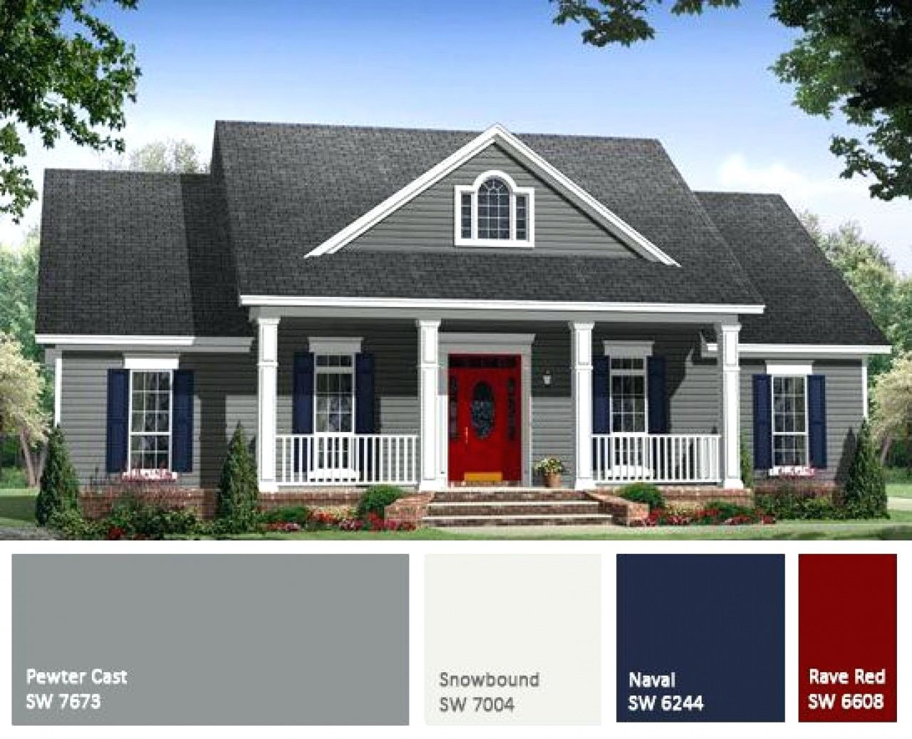 Pin On Exterior House Paint Color Combinations