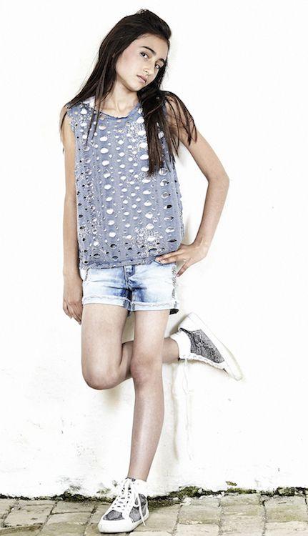 Ropa de verano para adolescentes, Frankie and Liberty SS14 http://www.minimoda.es