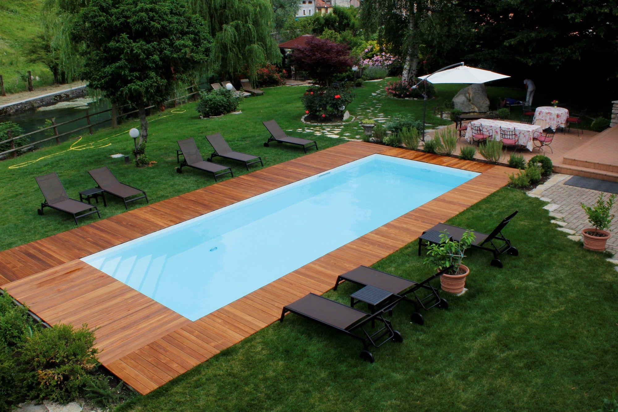 Abbiamo selezionato 36 piscine interrate, per darvi degli