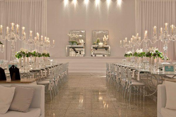 Estilo glam en decoraci n de salones para bodas parte ii Arreglos para boda en salon