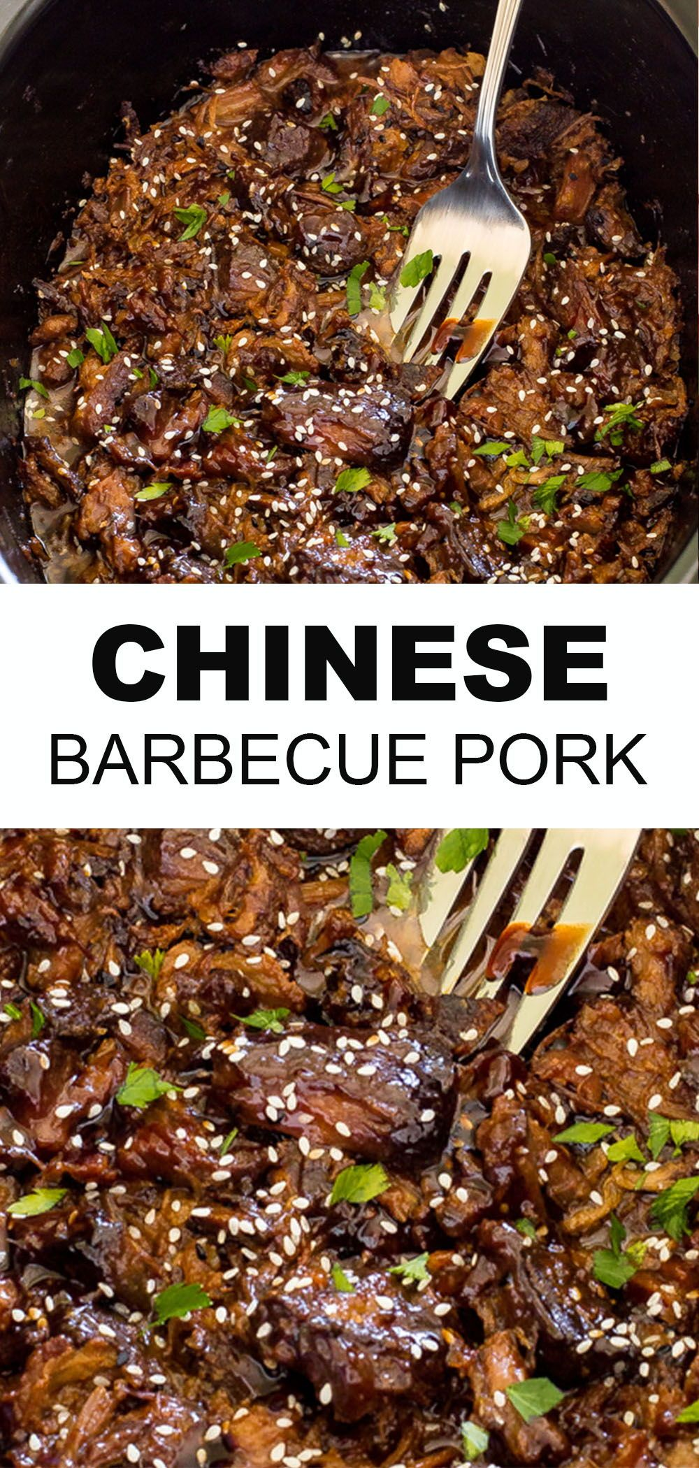 Slow Cooker Chinese Barbecue Pork Chef Savvy Recipe In 2020 Vegan Recipes Easy Asian Dinner Recipes Asian Recipes