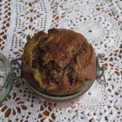 Marmorkuchen im Glas
