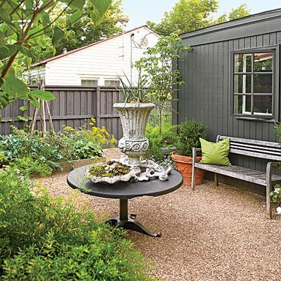 The Rear Garden Arkansas Cottage Makeover Southern Living