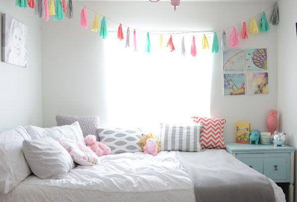7 habitaciones infantiles decoradas con guirnaldas room - Habitaciones infantiles decoradas ...