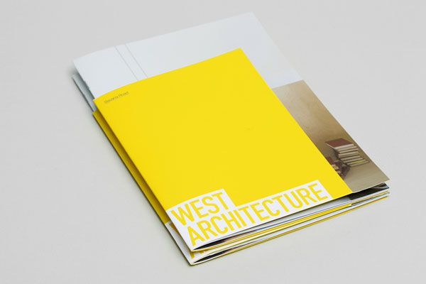 West Architecture  Brochure Design By Morse Studio  Graphic