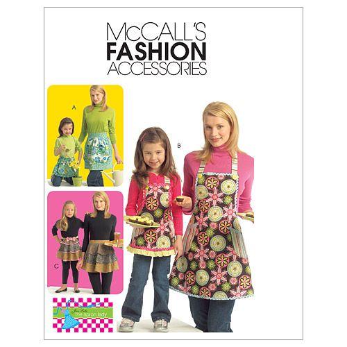 McCall's Patterns M5720 Misses' & Children's Full & Half