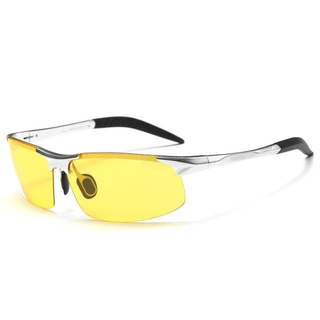 04916ee8445 AORON Original Brand HD Lens Photochromic Polarized Sunglasses Men Driving  Day and Night Vision Goggles Sun Glasses Eyeglasses