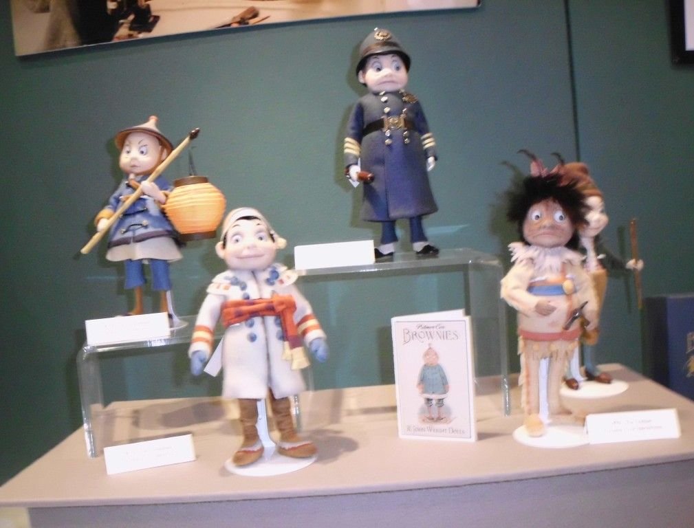 More felt dolls from R. John Wright Dolls - Made in Vermont