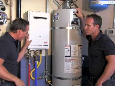 Tankless Vs Regular Water Heater What Is The Difference Youtube