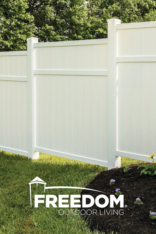 Brighton Vinyl Fencing Vinyl Fence Vinyl Privacy Fence White