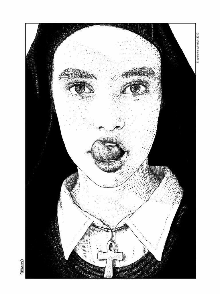 whore nun!