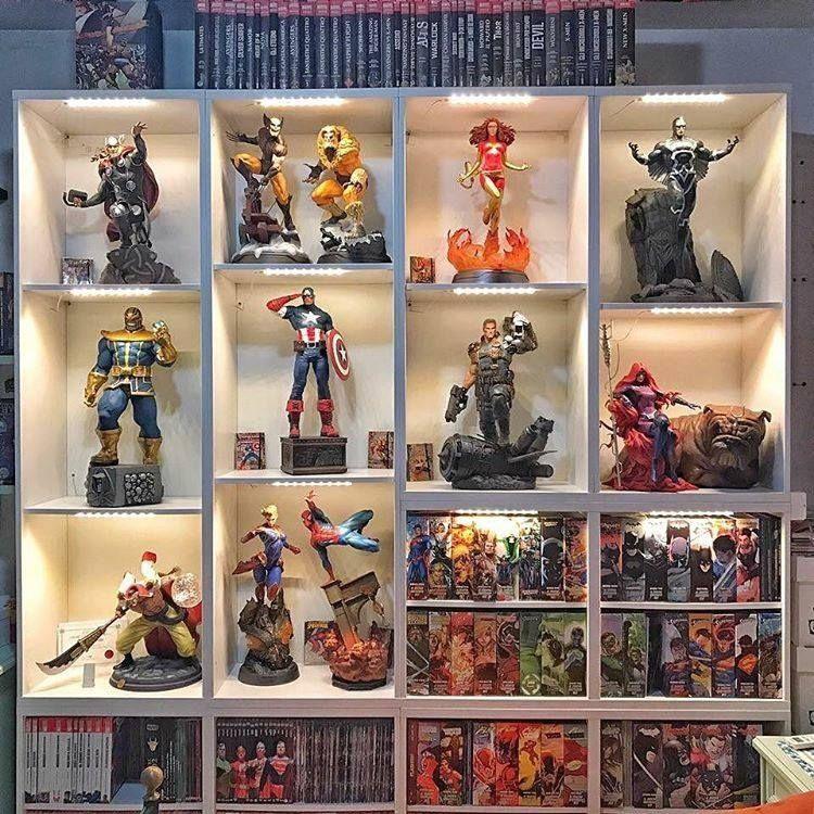 anime figure display case amazon