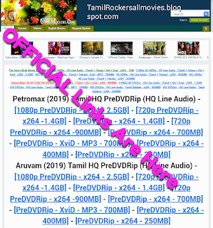 Tamilrockers All New Working Link For 2019 100 Working Link Download Tamil Telugu Malayalam Movies Movies Link Telugu