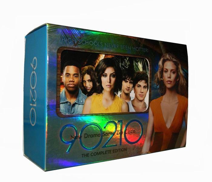 90210 Seasons 1-5 DVD Box Set---US$68.99 | Camp DVD collection | Pinterest | 90210 season 1 ...