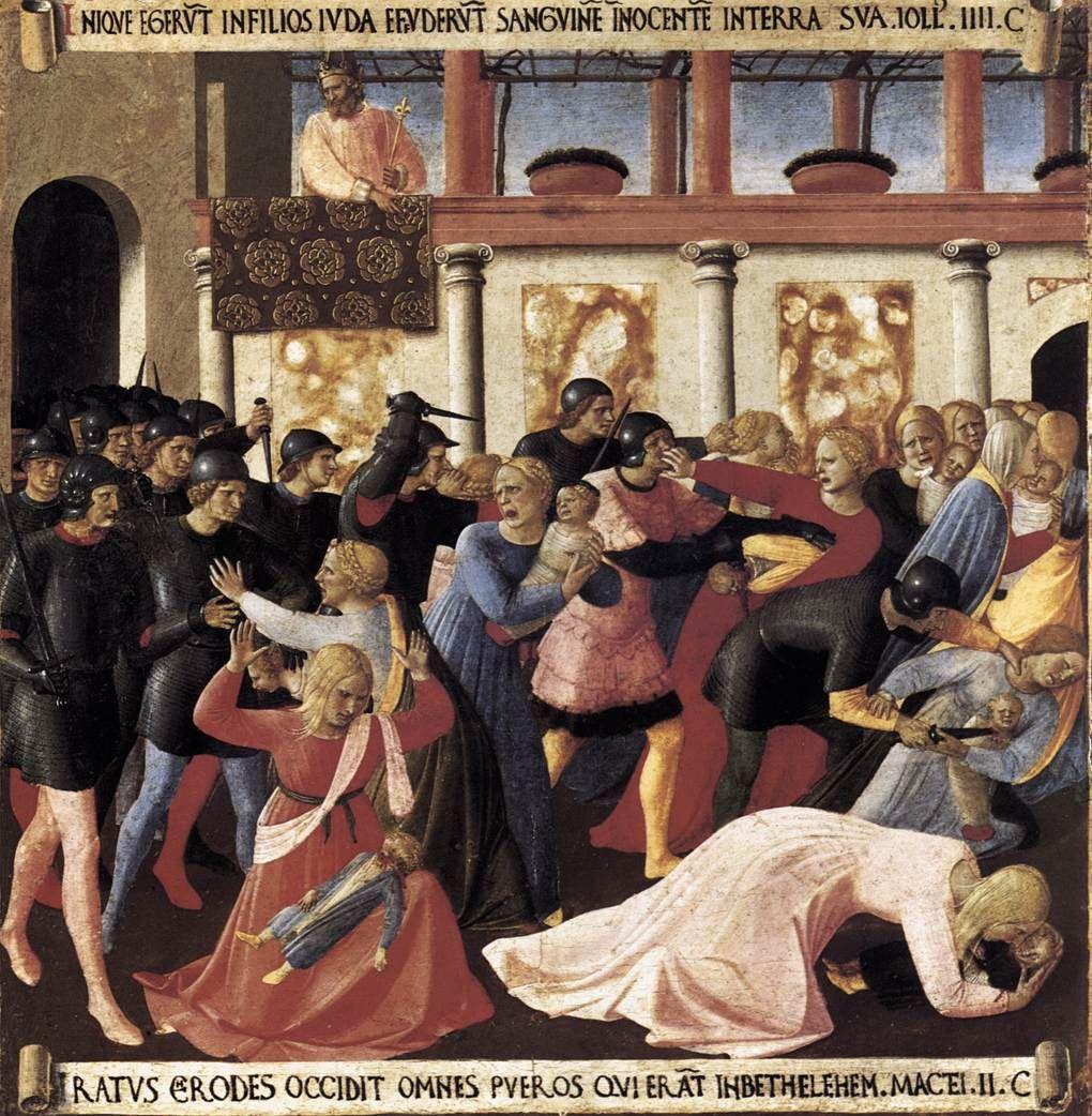 Guido di Pietro (Fra Angelico) - Massacre of the Innocents