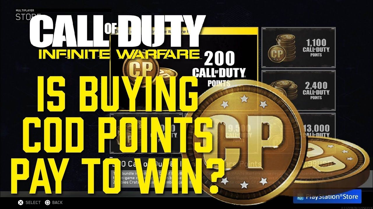 Pay To Win By Buying Cod Points In Infinite Warfare Call Of Duty