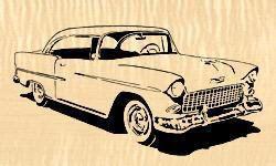 07 T1 7 1955 Chevy Downloadable Pdf Scroll Saw Pattern Scroll Saw Patterns Scroll Saw Scroll Saw Pattern