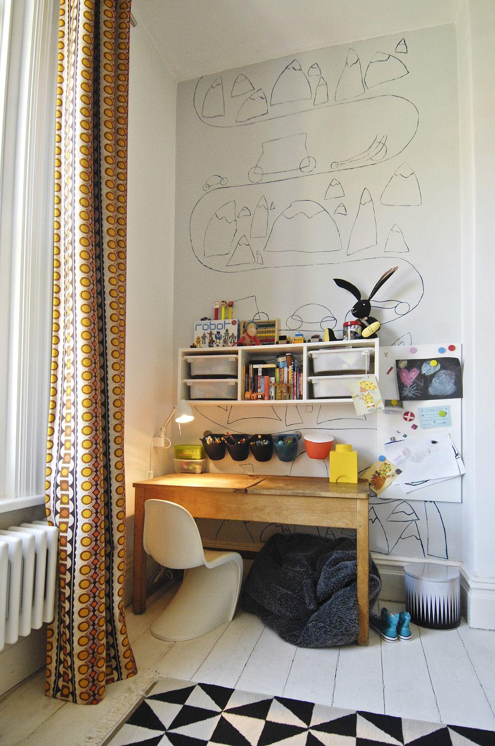 Rentrée des classes : Un coin bureau dans la chambre | Kid room ...