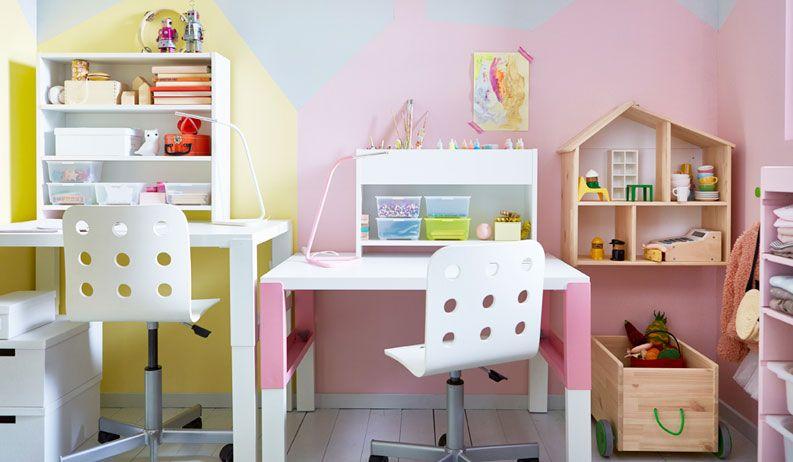 Arredamento camerette ikea camera bambini in 2019 scrivania ikea bambini cameretta ikea - Camerette x ragazzi ikea ...