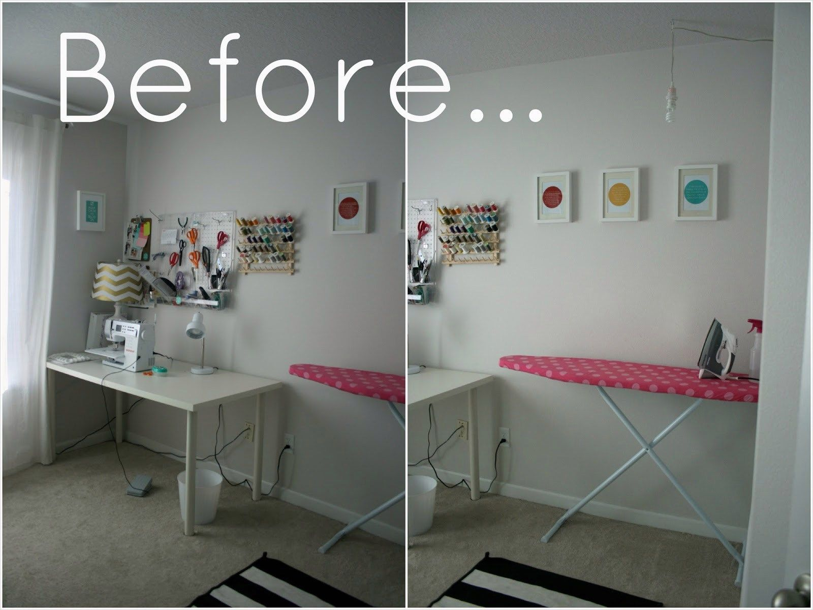Modern Small Sewing Room Ideas