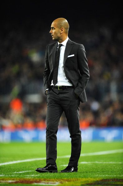 Pep Guardiola - best dressed coach ever.